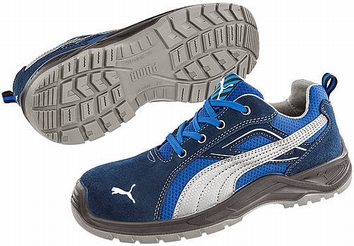 Puma safetyboots Omnio Blue Low