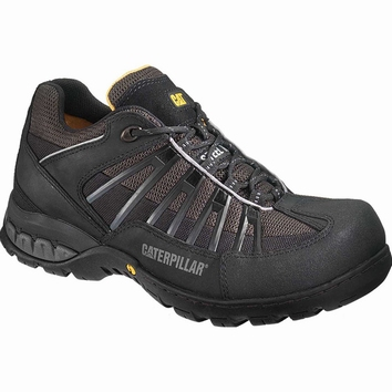 OUTLET! Caterpillar werkschoenen Kaufman low zwart