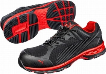 Puma werkschoenen Fuse Motion Red low