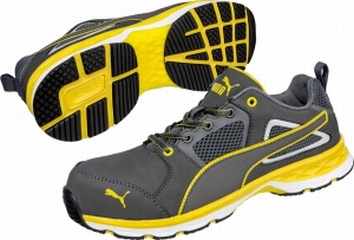 NEW!! Puma safetyboots Pace yellow low