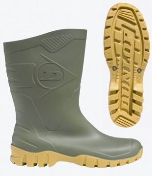 Dunlop welllington boots calf Dee K580.211 green