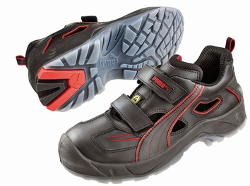 Puma safetyboots Aviat Low ESD Black