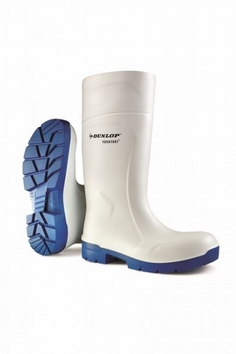 Dunlop wellington working boots purofort  CA 61131 white