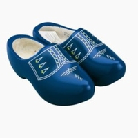 Woodenshoes Holland Blue