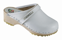 !OUTLET! Strovels quality clogs 301 white