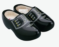 Woodenshoes Holland Black