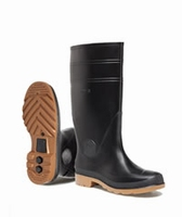 Nora wellington boots Como black