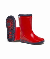 Nora wellington boots Nori red