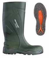 Dunlop wellington working boots purofort+ C762.933 green