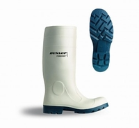 Dunlop wellington working boots purofort D360.141 white