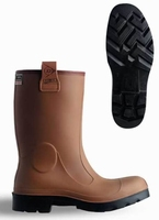 Dunlop wellington working boots purofort C462.743.FL brown