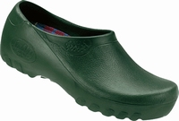 Jolly PU clogs closed green