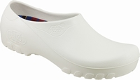 Jolly PU clogs closed white