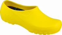 Jolly PU clogs closed yellow