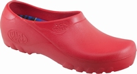Jolly PU clogs closed red