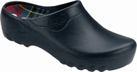 Jolly PU clogs open blue