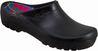Jolly PU clogs open black