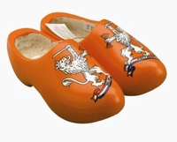 Woodenshoes Orange Holland Lion