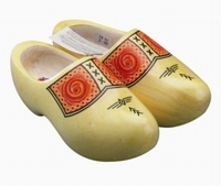 Woodenshoes Holland Yellow Farmer