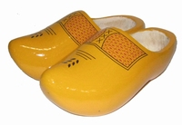Woodenshoes Holland AB Farmer Yellow