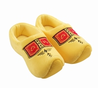 Woodenshoe Slippers Farmer Yellow