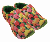 Woodenshoe Slippers Tulp decor