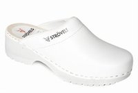 Strovels quality clogs 303 White