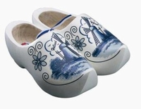 Woodenshoes Holland Tulp delfsblue