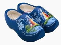 Woodenshoes Holland Tulp blue