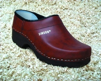 Simson clogs 296 brown