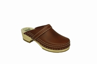 Simson clogs 953 brown