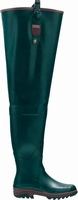 Aigle rubber waders / groin Boot Parcours Stream