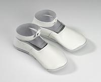 Cambo Woodenshoes Slipper Leather White