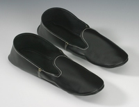 Cambo Woodenshoes Slipper Leather Black
