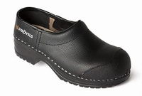 Strovels quality clogs klompen Andreas - SB zwart