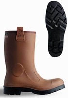 Dunlop wellington working boots purofort C462.743 brown