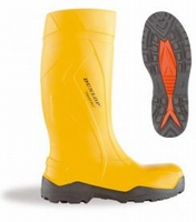 Dunlop wellington working boots purofort+ C762.241 yellow