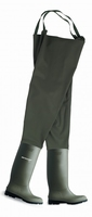 Dunlop chest wader boots 388VP green