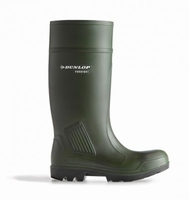 Dunlop wellington working boots purofort D460.933 green