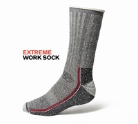 Redbrick Working socks black 06261