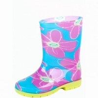 HOZ rubberboot Lina blue/rose