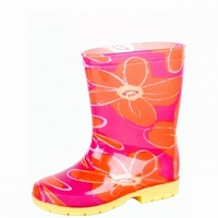 HOZ rubberboot Suze rose/orange