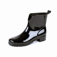 HOZ PVC ladies ankle boots 400W black
