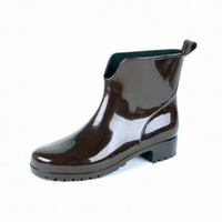 HOZ PVC ladies ankle boots 400W brown