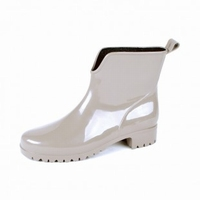 HOZ PVC ladies ankle boots 400W gray