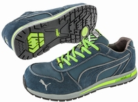NEW!! Puma safetyboots Airtwist Low Green