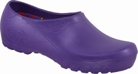 Jolly PU clogs closed Purple