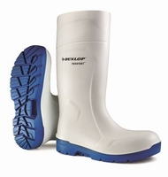 Dunlop wellington working boots purofort  CB 61131 white