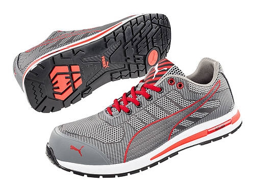 Puma safetyboots Xelerate Knit Low Grey
